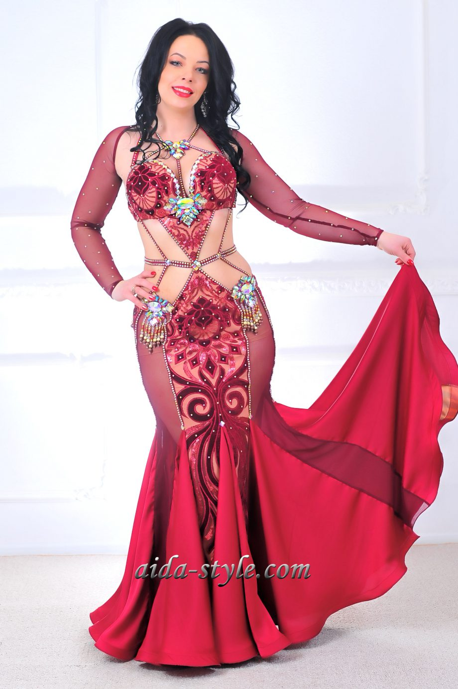 belly dancers dress
