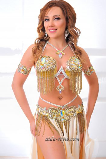 white belly dancing outfits