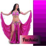 belly dance costume fuchsia